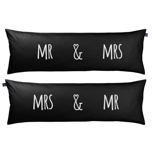 Poduszka One Pillow Mr&Mrs Black