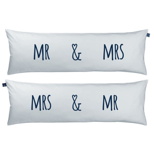 Poduszka One Pillow Mr&Mrs Light Grey