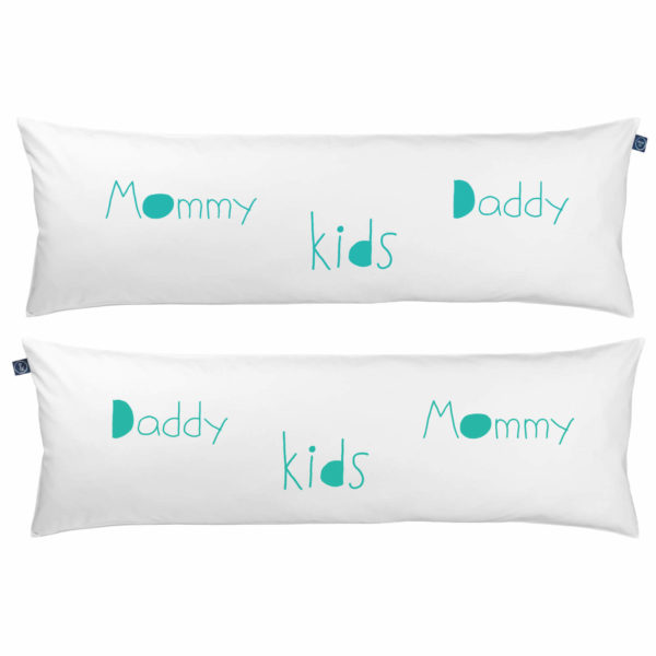 Poduszka One Pillow Mommy Daddy kids