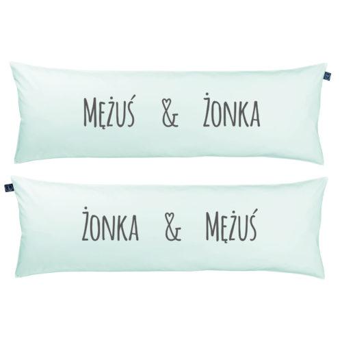Poduszka One Pillow Mężuś Żonka