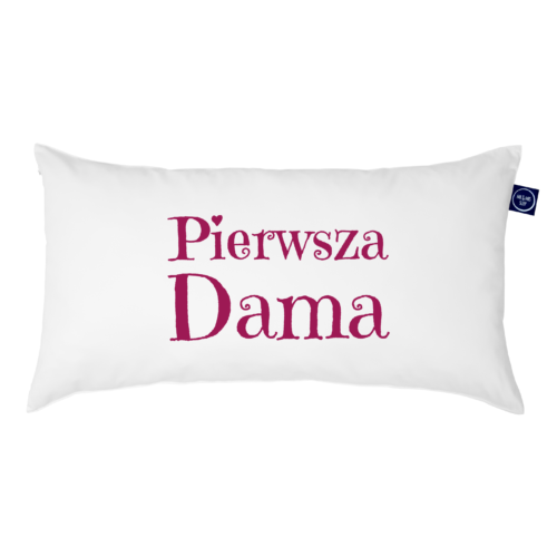 """Poduszka Junior One Pillow """"Pierwsza Dama"""""""