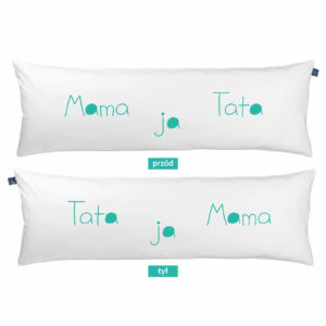 Poduszka rodzinna One Pillow Mama Tata ja
