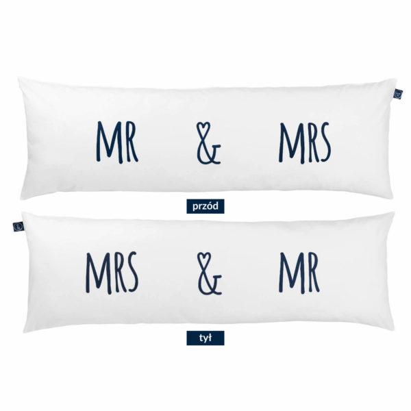 Poduszka dla dwojga One Pillow Mr&Mrs