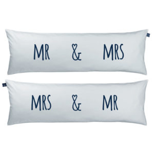 One Pillow Mr&Mrs Grey